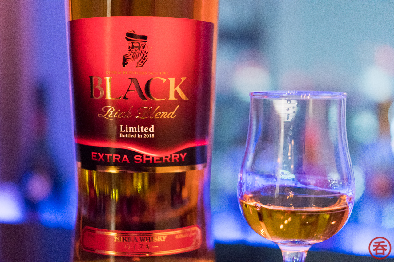 Review: Nikka Black Rich Blend Extra Sherry