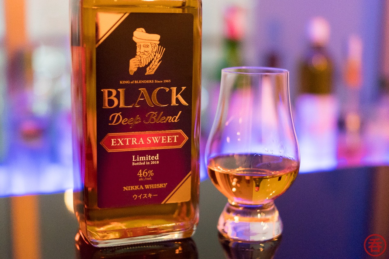 Review: Nikka Black Deep Blend Extra Sweet