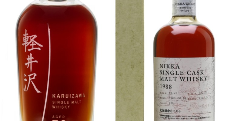 Plastic Oceans Charity Auction includes Karuizawa 50yo, Yoichi 1988 Single Cask