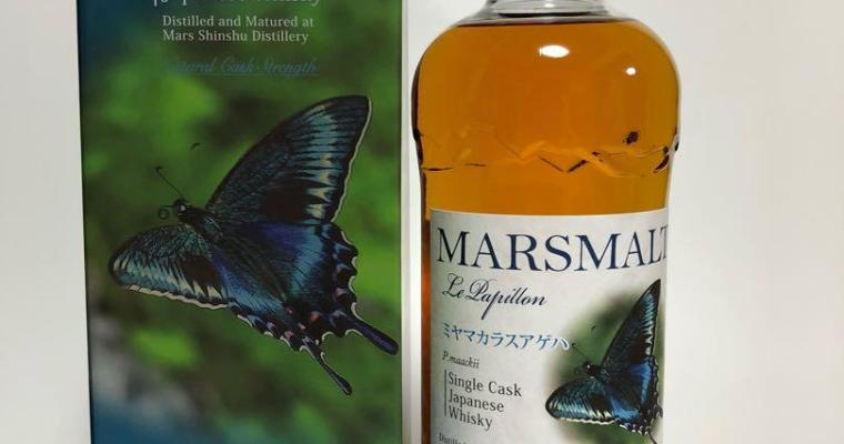 Marsmalt Le Papillon P.maackii Single Cask Japanese Whisky