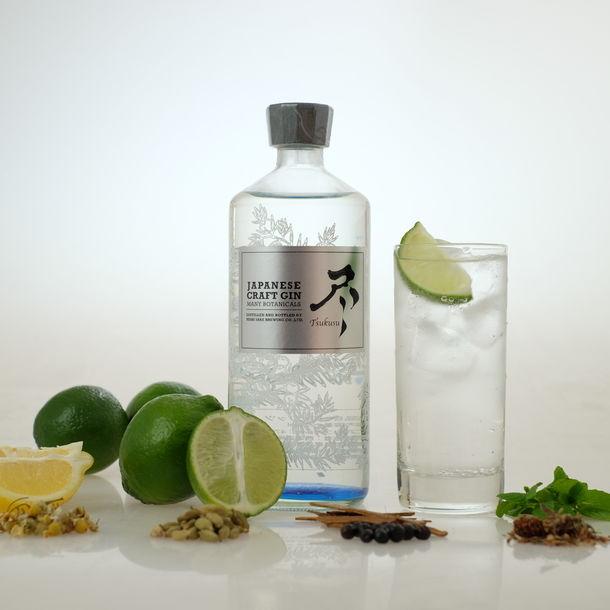 Japanese Craft Gin Tsukusu from Nishi Shuzo