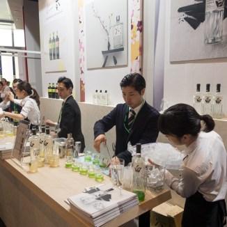 Suntory's Japanese Craft corner