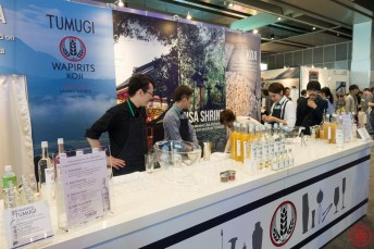 Tumugi booth significant grew in size