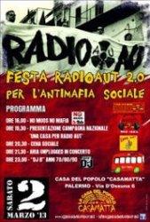 Palermo, Festa Radio Aut 2.0 - NO MAFIA NO MUOS
