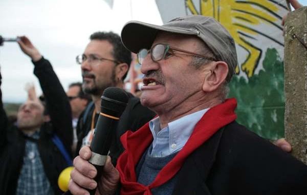 NODALMOLIN solidali con attivisti NO MUOS saliti su antenne
