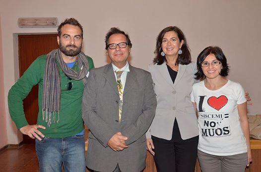 No MUOS incontrano Laura Boldrini