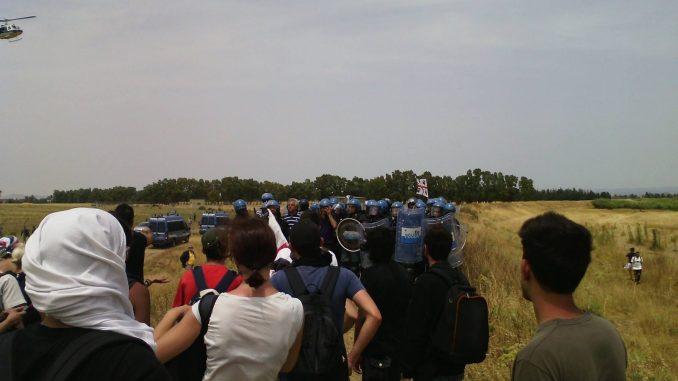 Sul corteo antimilitarista dell'11 giugno all'aeroporto militare diDecimomannu