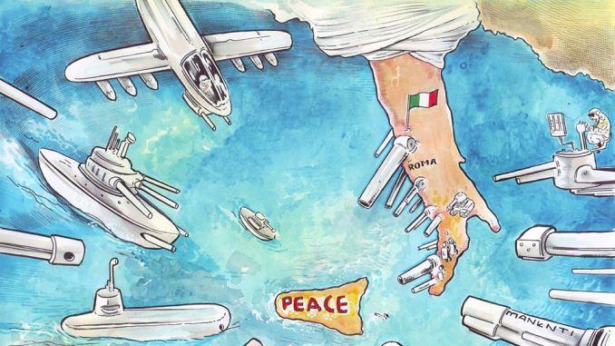 War games Usa e Nato in Sicilia? No grazie