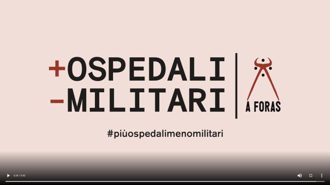 Campagna +Ospedali -Militari | A Foras