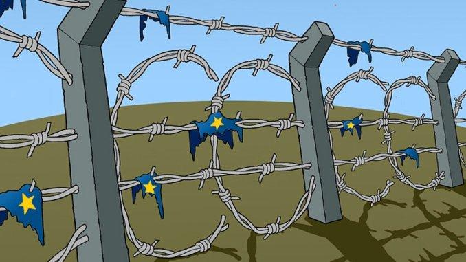 RESPINGIAMO IL RAZZISMO E I CRIMINI DELLA FORTEZZA EUROPA