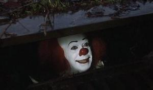 Pennywise the Clown in the Sewer