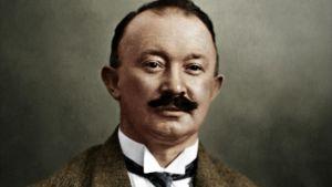 Portrait of Hugo Boss
