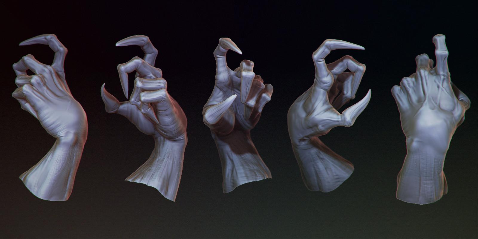 making sculpting and posing