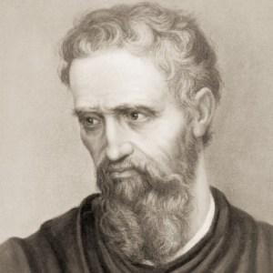 Michelangelo em autoretrato (Crédito: Arquivo)