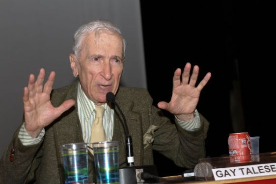 Gay Talese encerrou as discussões do penúltimo dia do 4º Congresso Internacional de Jornalismo Cultural.(Crédito: Revista Cult)