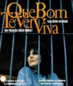 Cartaz do filme, com Irene Ravache