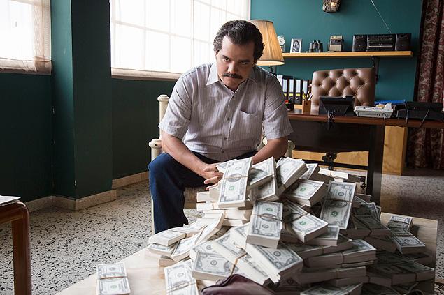 Wagner Moura é Pablo Escobar