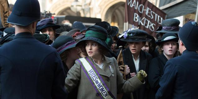 Helena Bonham-Carter em As Sufragistas
