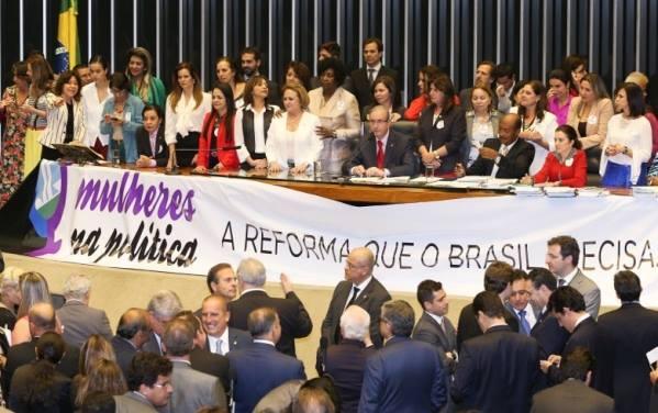 Baixa representatividade das mulheres na política brasileira ainda é um problema grave (Foto: agência Senado)