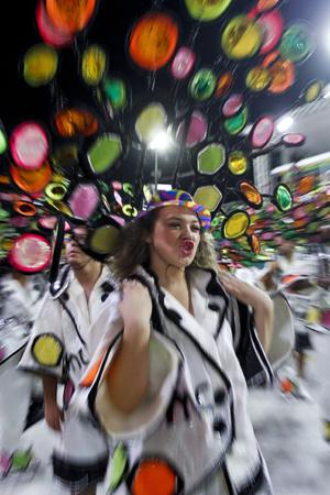 Porto Alegre, RS - 06/02/2016 Desfile Grupo Especial - Embaixadores do Ritmo Foto: Maia Rubim/PMPA