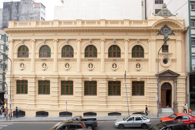 Biblioteca Pública do RS (Foto: Bruna Cabrera/Especial Palacio Piratini)