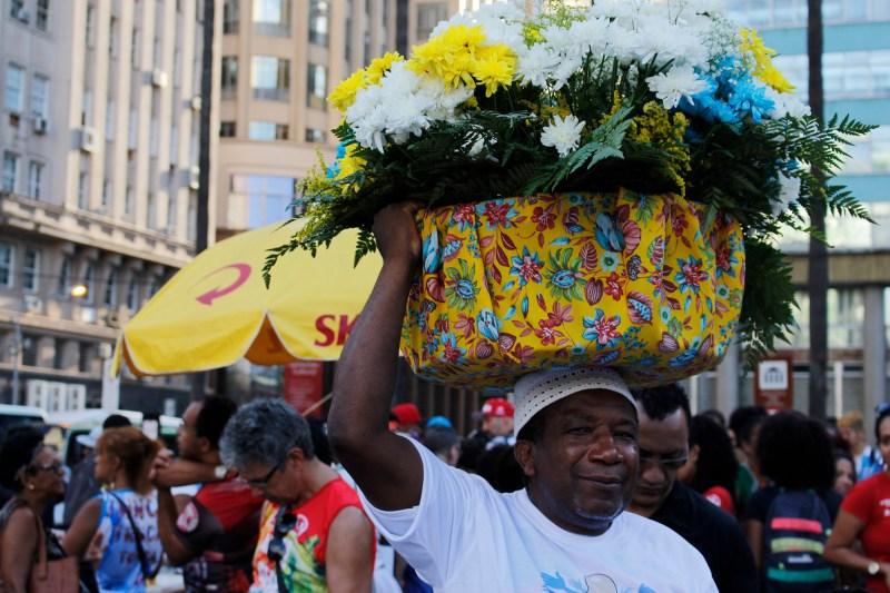 Na ocasião, também ocorreu a 9ª Marcha Estadual Pela Vida e Liberdade Religiosa do Rio Grande do Sul (Foto: Raphael Carrozzo/Nonada)
