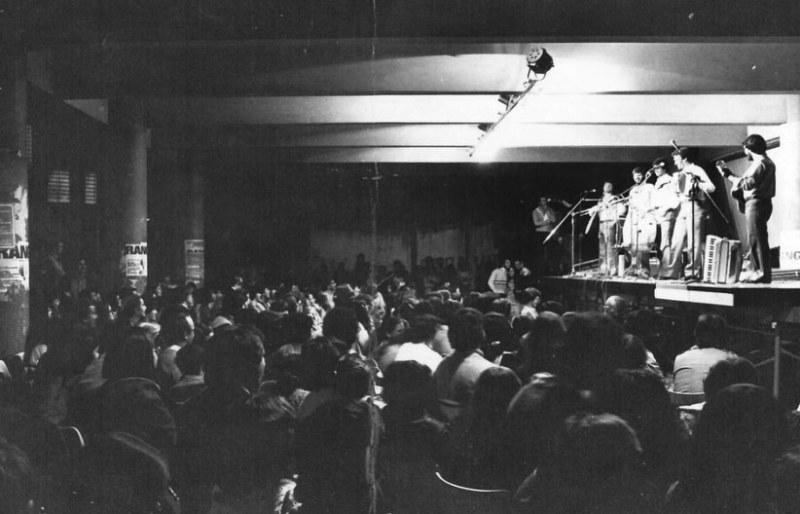 Show realizado em 1891, primeiro ano do Unimúsica, na Faculdade de Educação