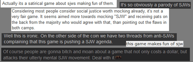 anti-SJW game