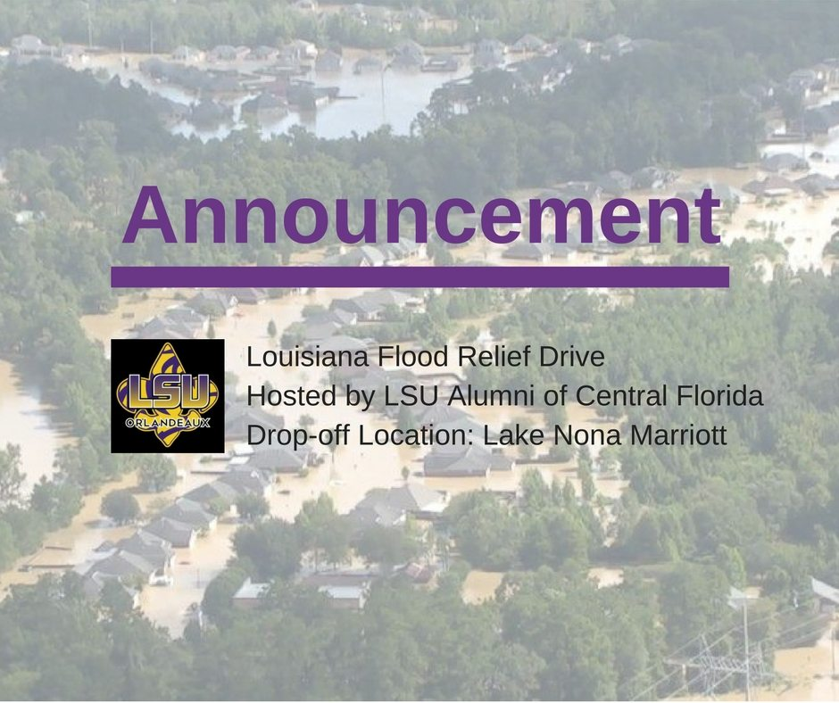 Lake Nona Flood Relief Collection