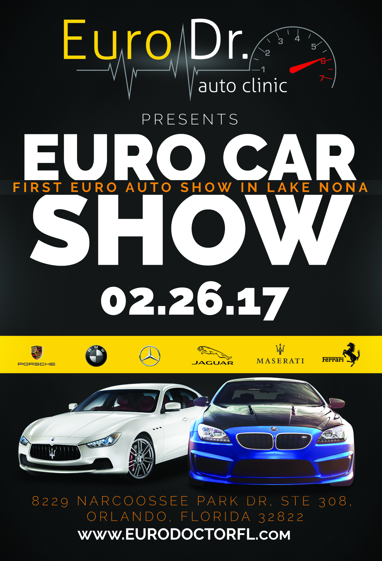 First Euro Auto Show Nonahood News - Car show orlando classic weekend