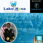 Lake Nona Regional Chamber of Commerce Business Luncheon