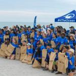 Hundreds of Volunteers Gather to Clean the Ocean Coastline, One Pound at a Time
