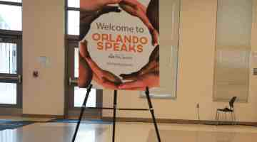 City of Orlando Holds Sixth Orlando Speaks Workshop Event at Lake Nona High School