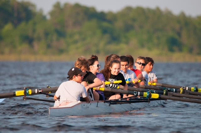 Summer Rowing Camps For Middle School And High School Athletes At
