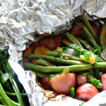 Katie's Cucina: Grilled Kielbasa and Potato Foil Packets