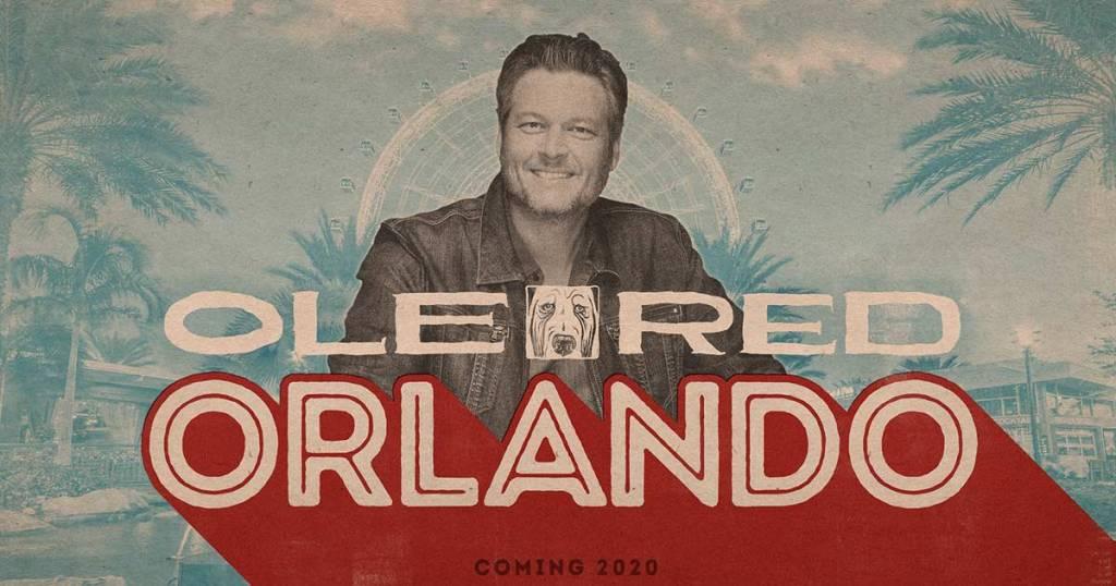 Blake Shelton Opening $15 Million 'Ole Red' in Orlando!