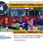 Community Open House at Orlando Fire Station Four