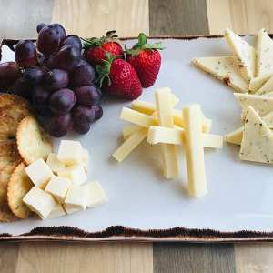Maine resort cheese plate