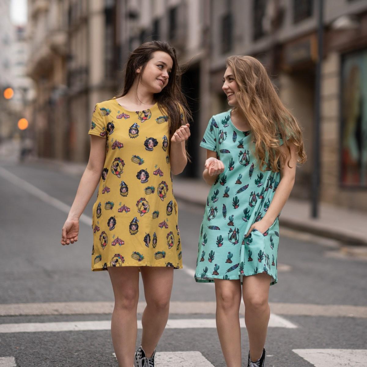 nonapapallona exterior dos vestidos