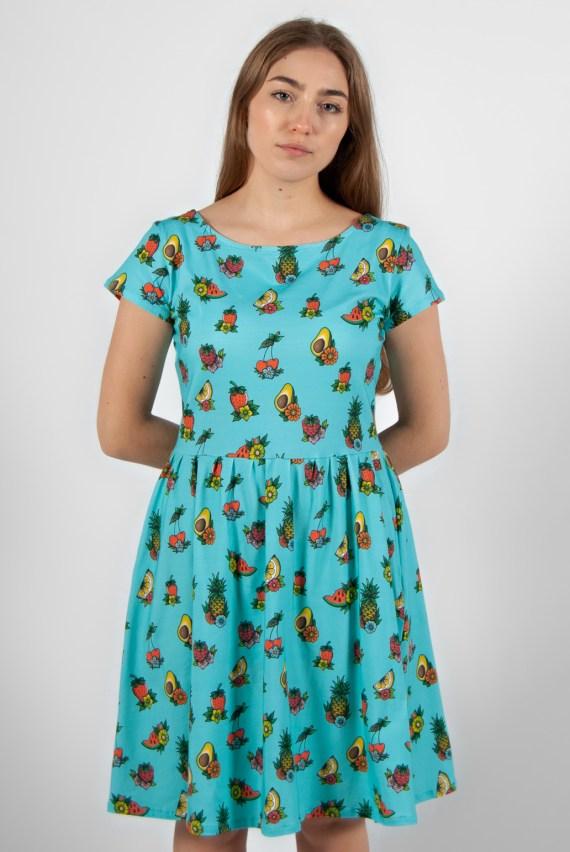 vestido estampado 16