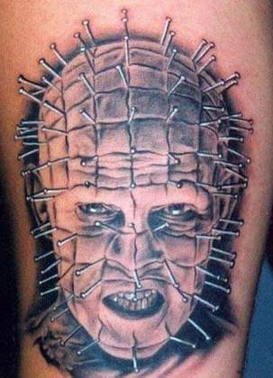 Pinhead tattoo