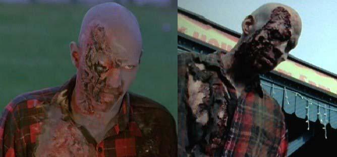 Camicia a quadri in L'Alba dei morti viventi (1978) - The Walking Dead terza stagione 15 episodio