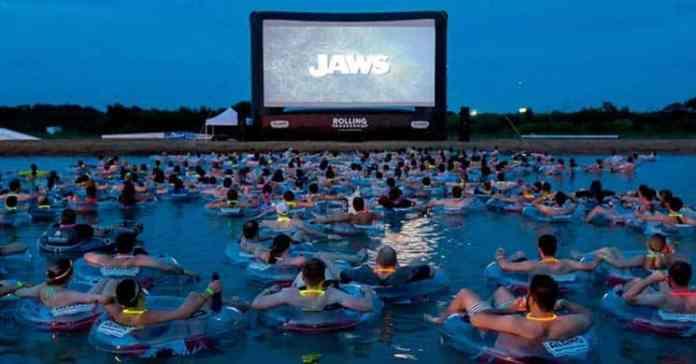 Jaws on the water - Lo Squalo sull'acqua