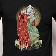Pampling Dracula Klimt t-shirt