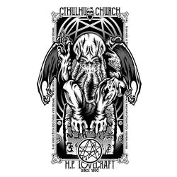 Maglietta di Cthulhu - Pampling