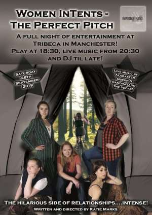 Women In Tents Poster - Lesbian Play