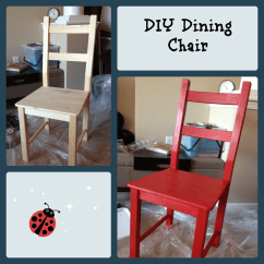 Diy Dining Chairs Qatar Airways Wheelchair How To Paint A Chair Chronicles Of Nothing