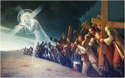 rinneghi se stesso, prenda la sua croce ogni giorno e mi segua.