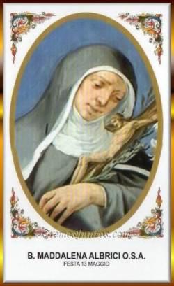 sveta Magdalena Albrici - opatinja