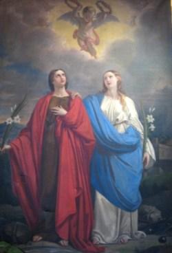 sveti Rufina in Sekunda - nuni in mučenki